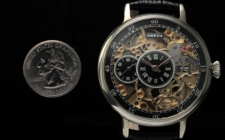 Omega - Regulateur Deco Half Skeleton