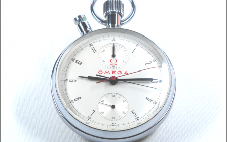 Omega - Pocket Watch Chronograph 19th
