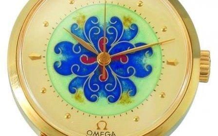 Omega - Cloisonne Dial Flowers